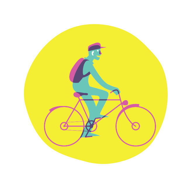 Likecycle (Screenprint)